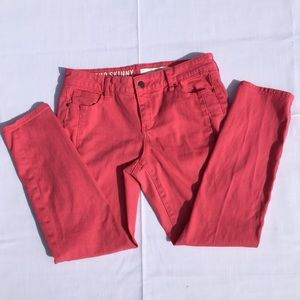 Soho Skinny DKNY pretty pink jeans, size 6